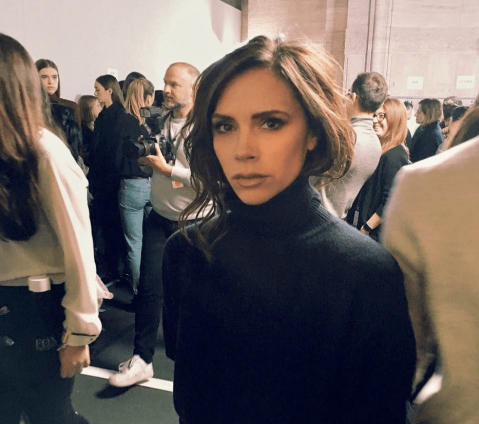 Victoria Beckham enjoys a VB while in Sydney