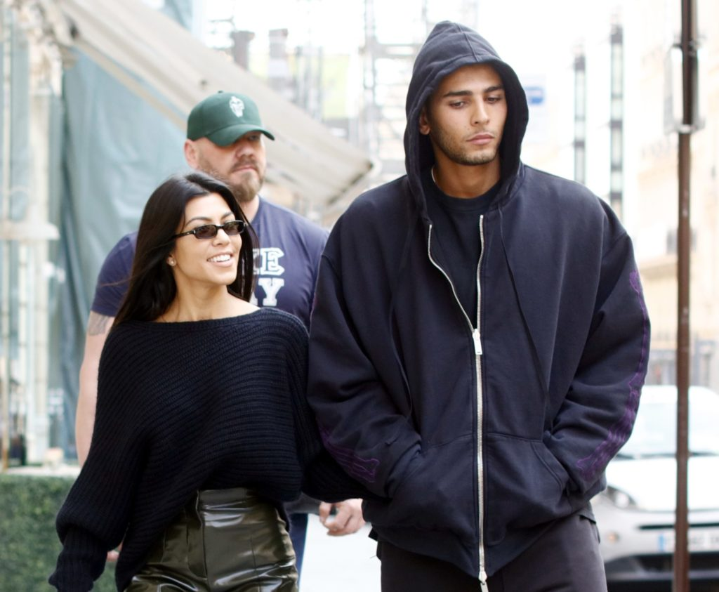 Kourtney Kardashian & Boyfriend Younes Bendjima Return From Puerto Vallarta Together