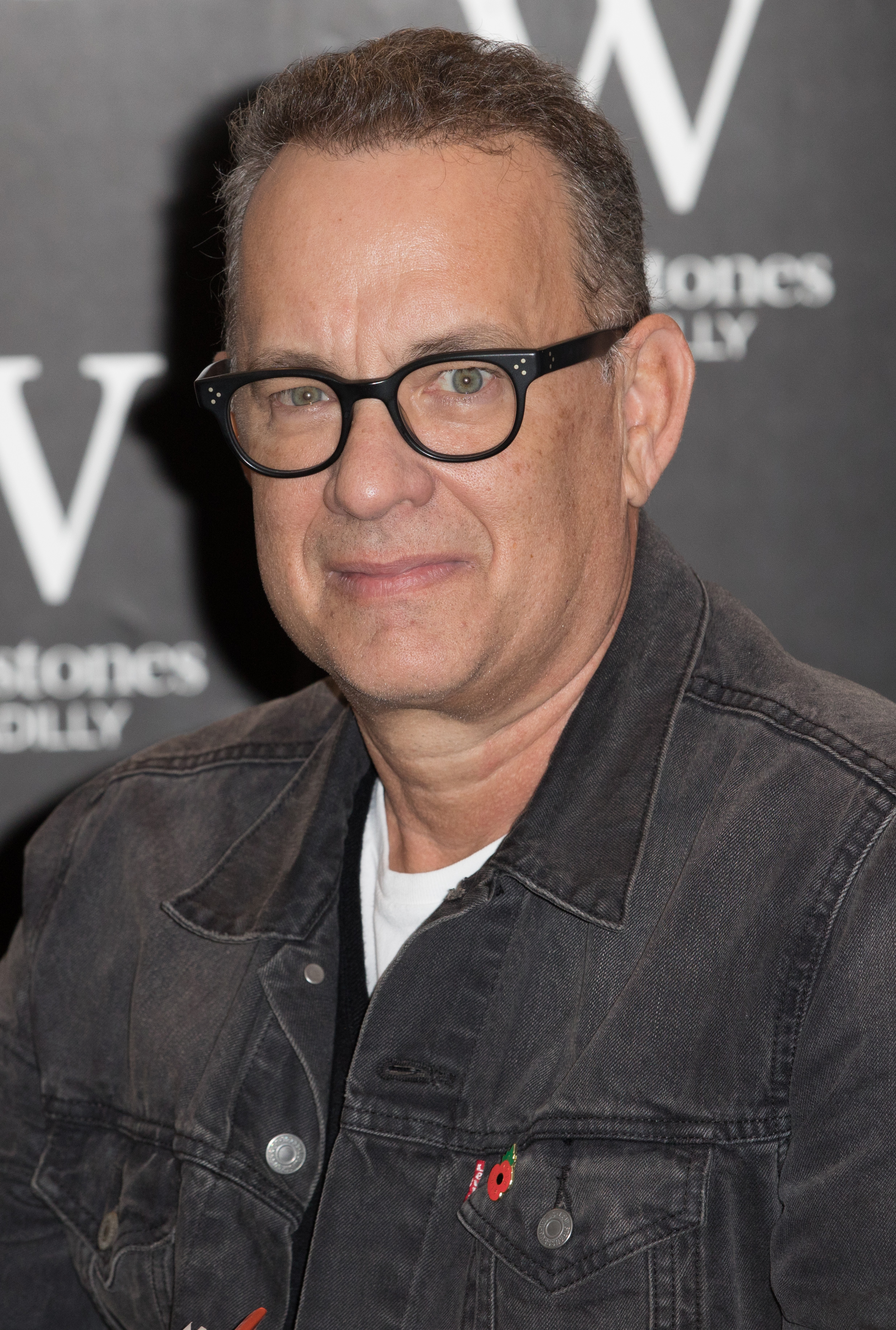 Tom Hanks signs copies of his short stories collection 'Uncommon Type' at Waterstones Piccadilly Featuring: Tom Hanks Where: London, United Kingdom When: 02 Nov 2017 Credit: Phil Lewis/WENN.com