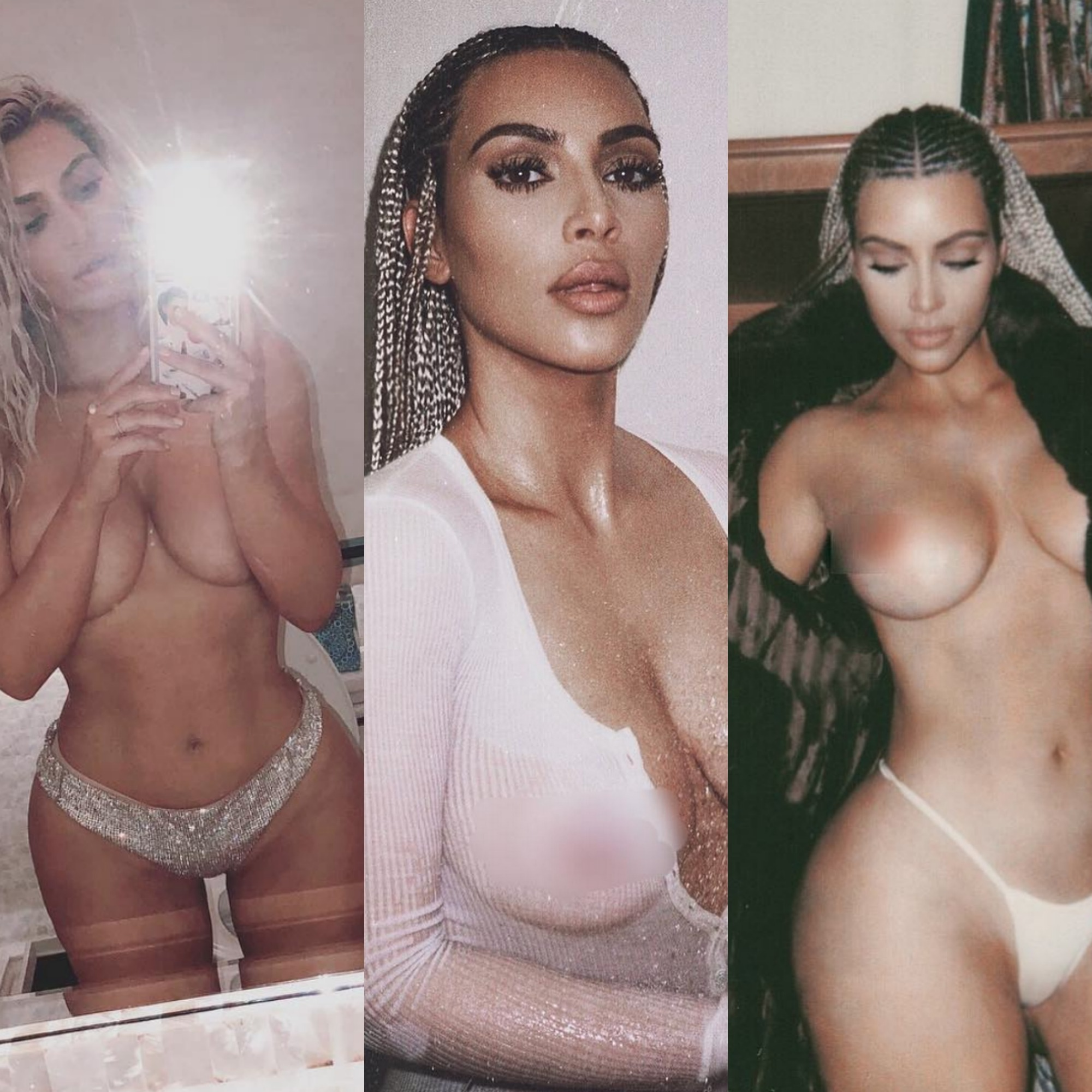 Picture of kim karsnaked porn breasts