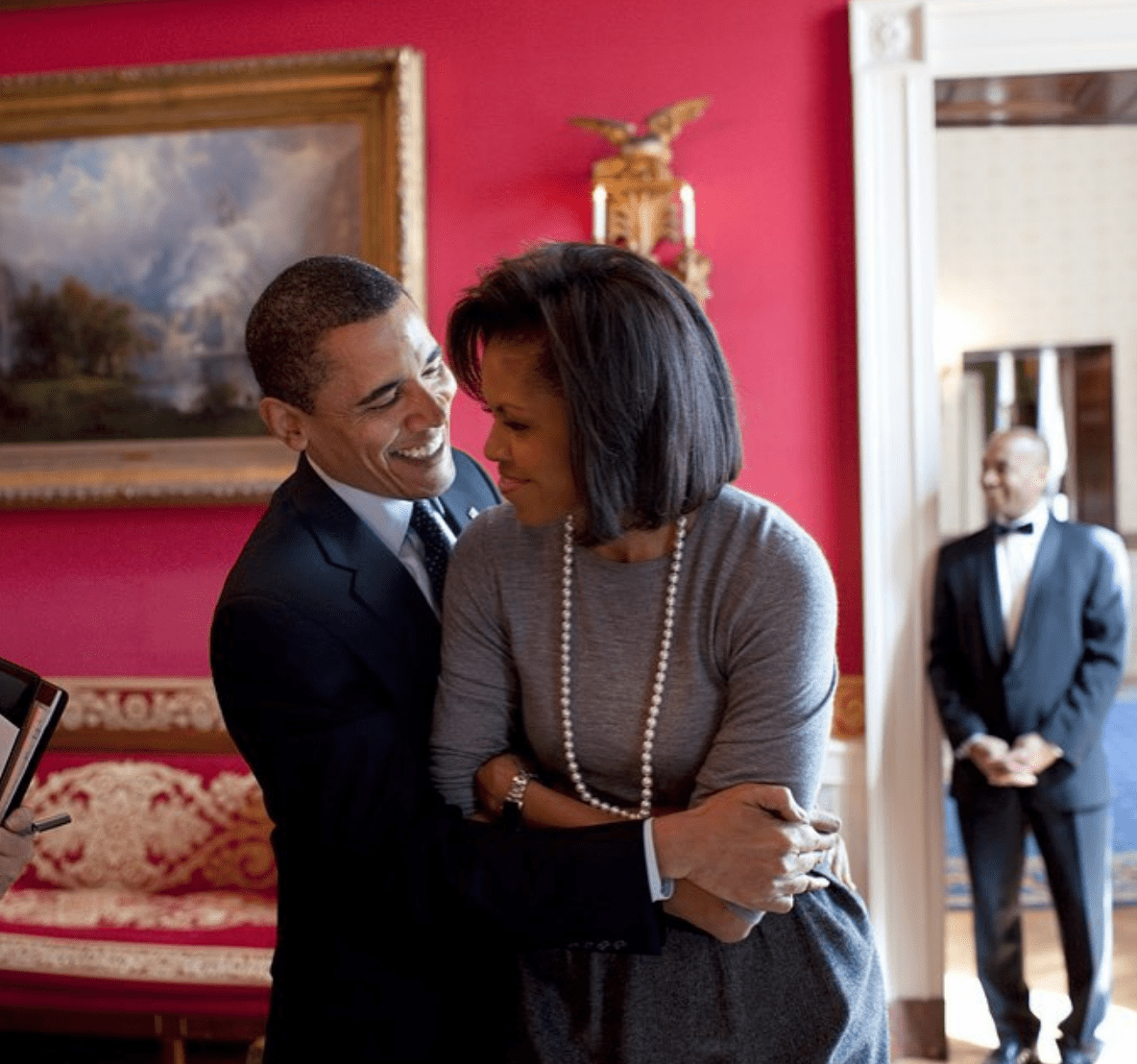 Michelle Obama Shares 'Best Friend' Barack's Sweet Birthday Gift -- See the Pic!