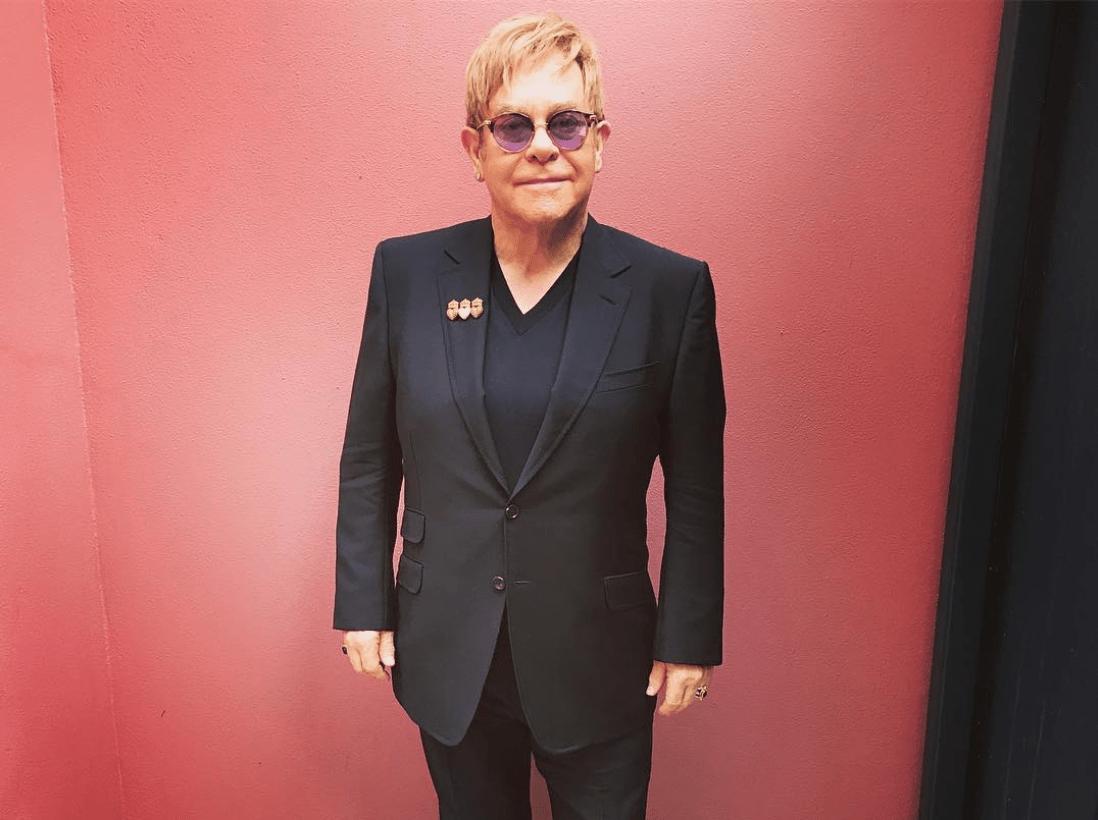 Gucci, Gucci and More Gucci For Elton John's Farewell Tour