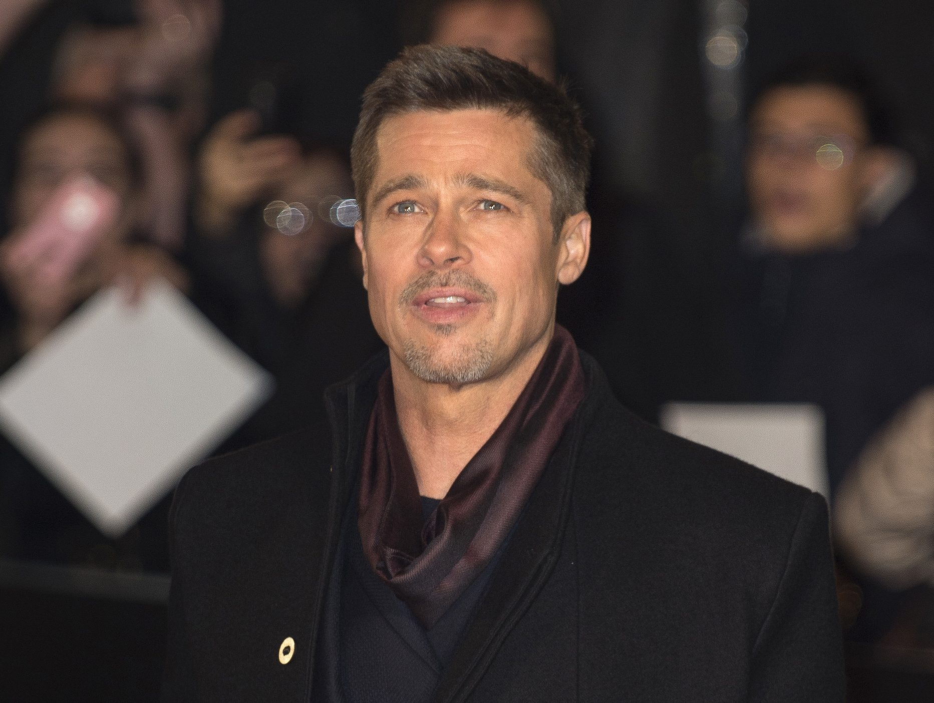 Brad Pitt's new girlfr...