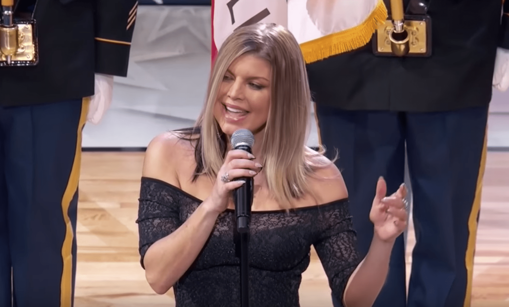 Fergie responds to NBA All-Star anthem criticism