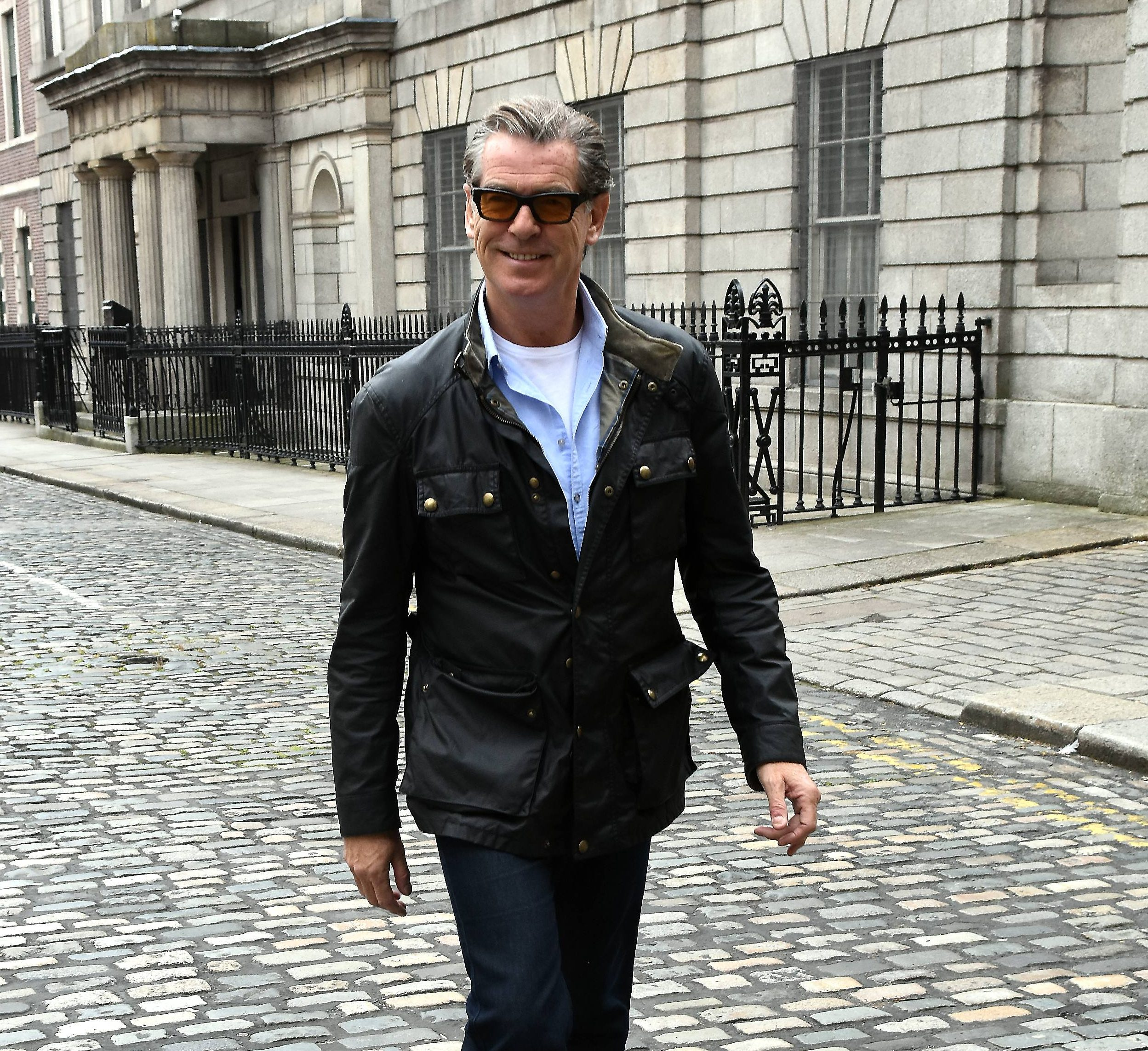 Bond in trouble: Pierce Brosnan asked to explain 'Pan Bahar' advert