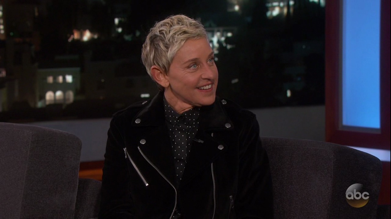 Ellen DeGeneres Moves Jimmy Kimmel to Tears With Touching Surprise