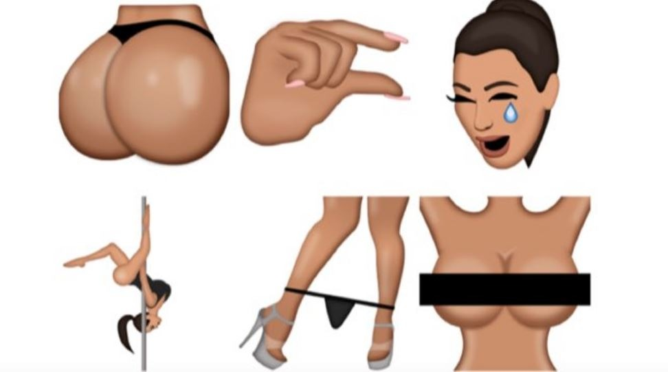 Not Everyone Is Loving Kim Kardashian's 'Feminist' Kimojis
