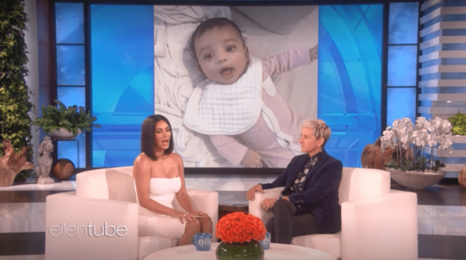 Kim K finally explains weird baby name