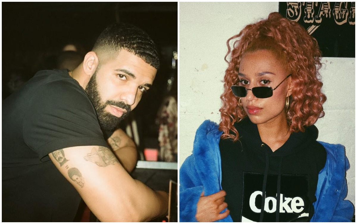 nieuwe vriendin van Drake
