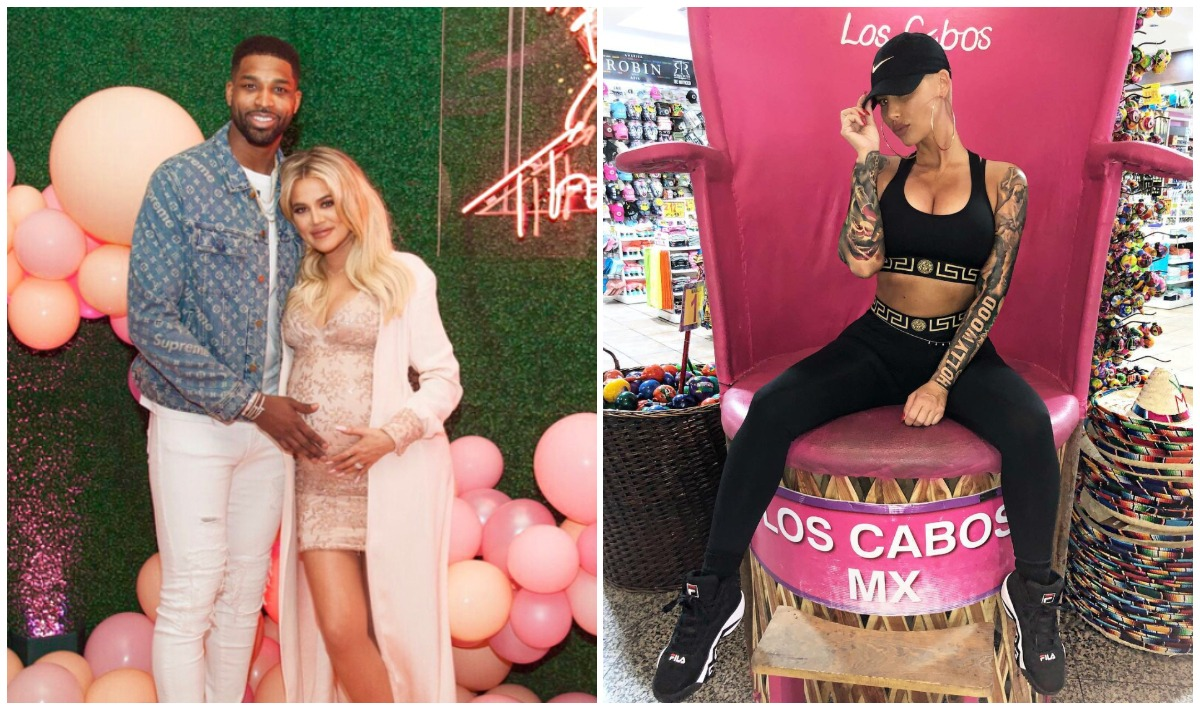 Kim Kardashian Reacts to Tristan Thompson Cheating on Her Sister