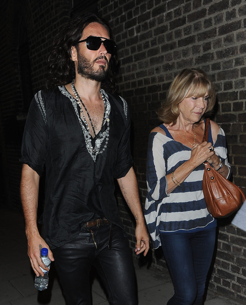 Russell Brand's mother seriously injured in hit-and-run auto crash
