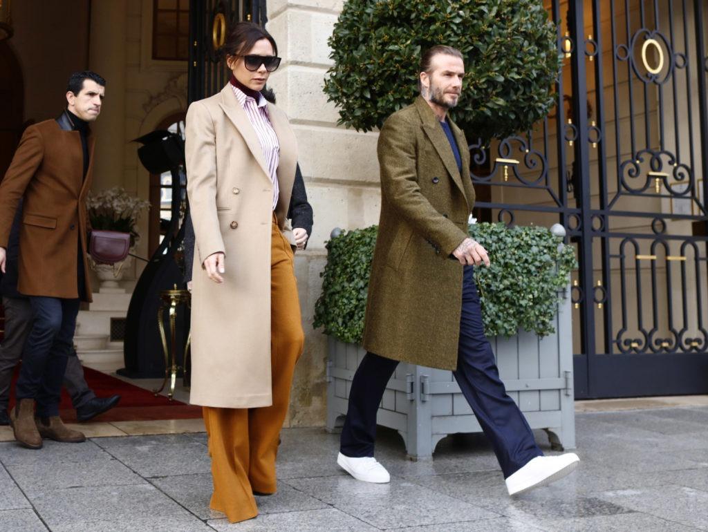 Victoria Beckham laughs off rumours of divorcing husband David