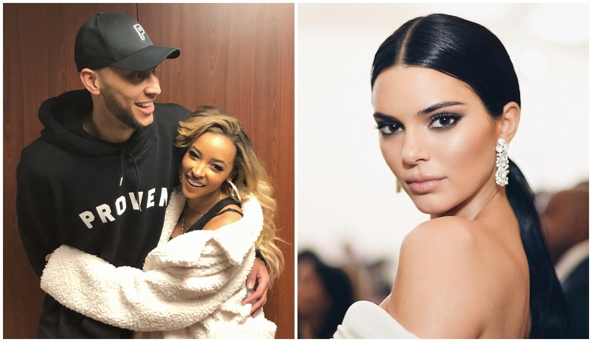971d87309 Ben Simmons ex Tinashe claims he is dating Kendall Jenner for 'fame' and  still texts her