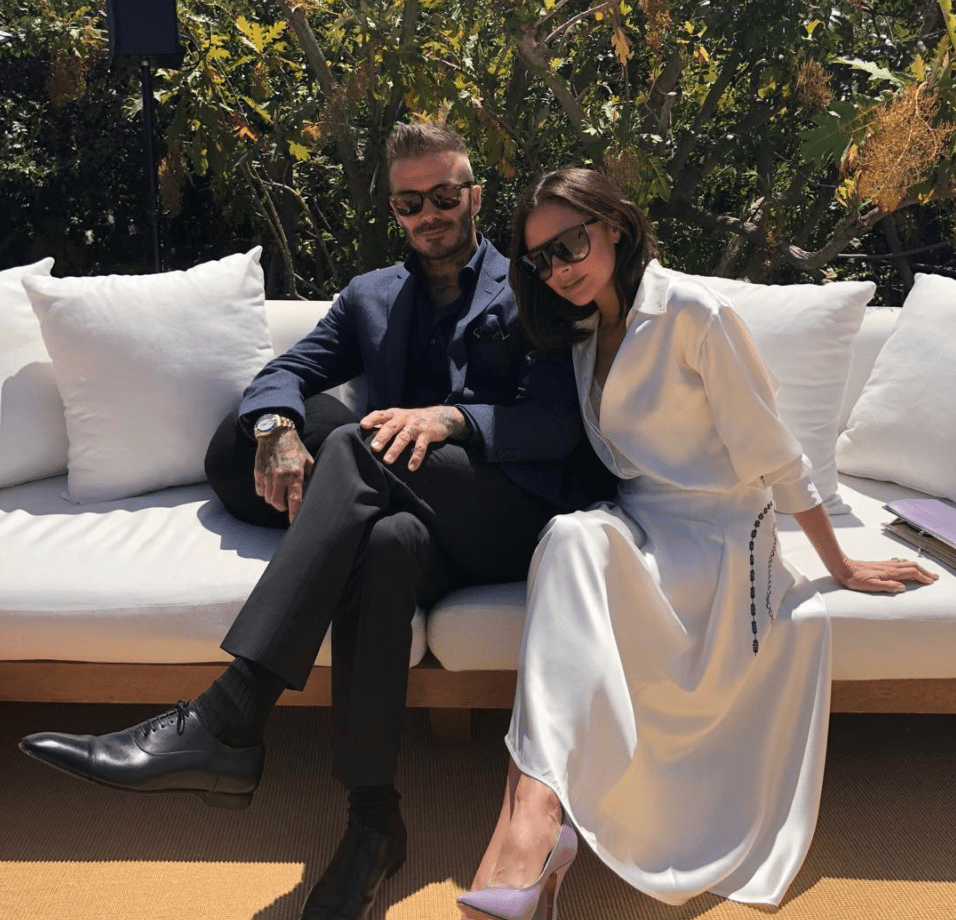 Victoria and David Beckham look madly in love after split rumours