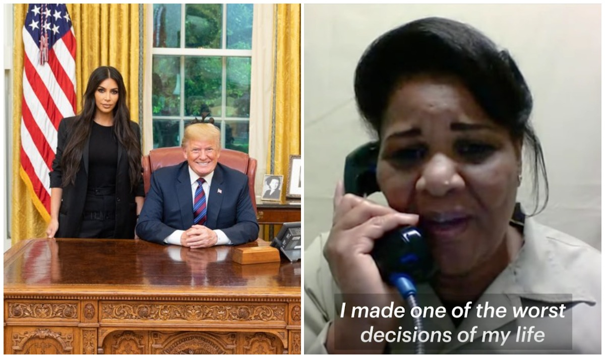 Donald Trump commutes life sentence of Alice Johnson after Kim Kardashian's plea