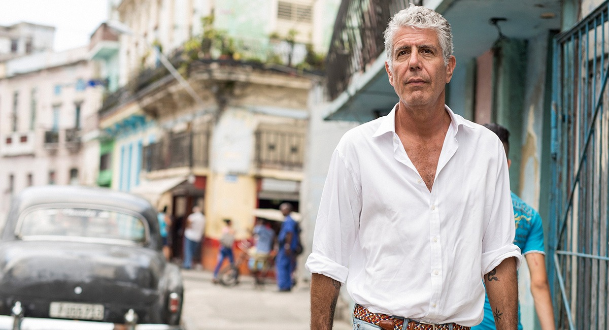 Anthony Bourdain's fans leave tributes at the restaurant where it all began