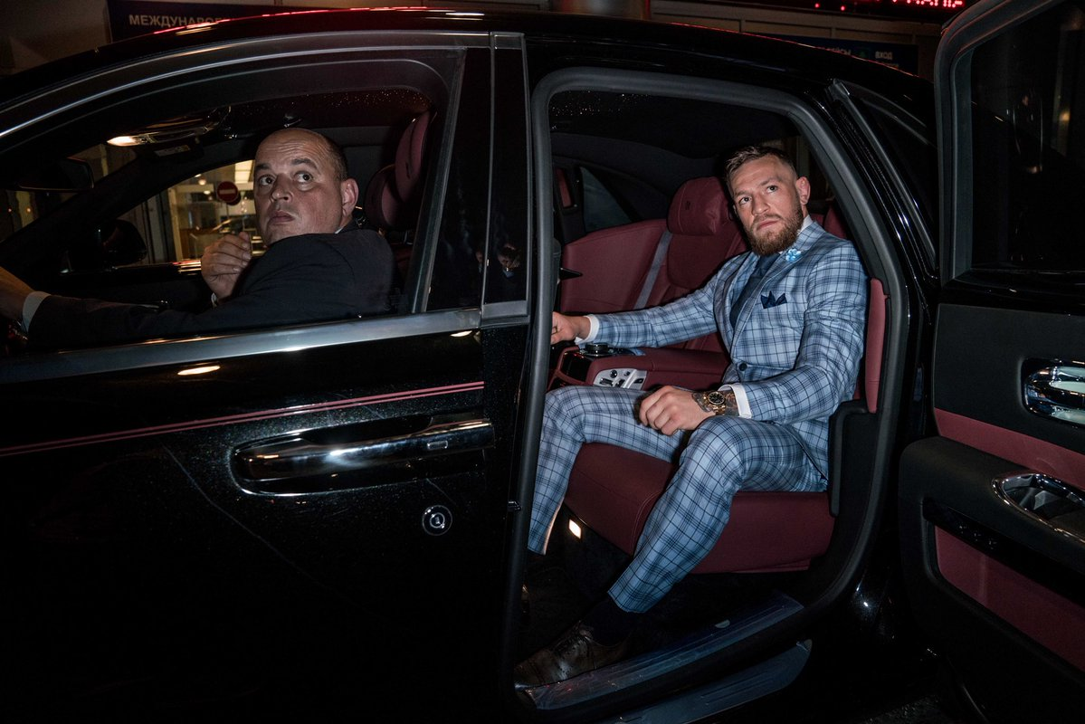 Conor McGregor & Khabib Nurmagomedov in Russia For World Cup