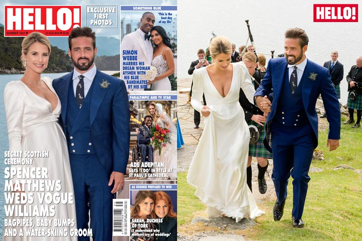 See inside Spencer Matthews and Vogue Williams fairytale wedding