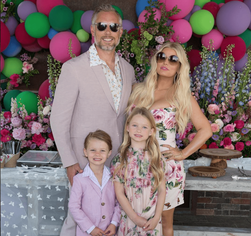 Jessica Simpson Reveals She's Expecting Baby No. 3 With Adorable Gender Reveal