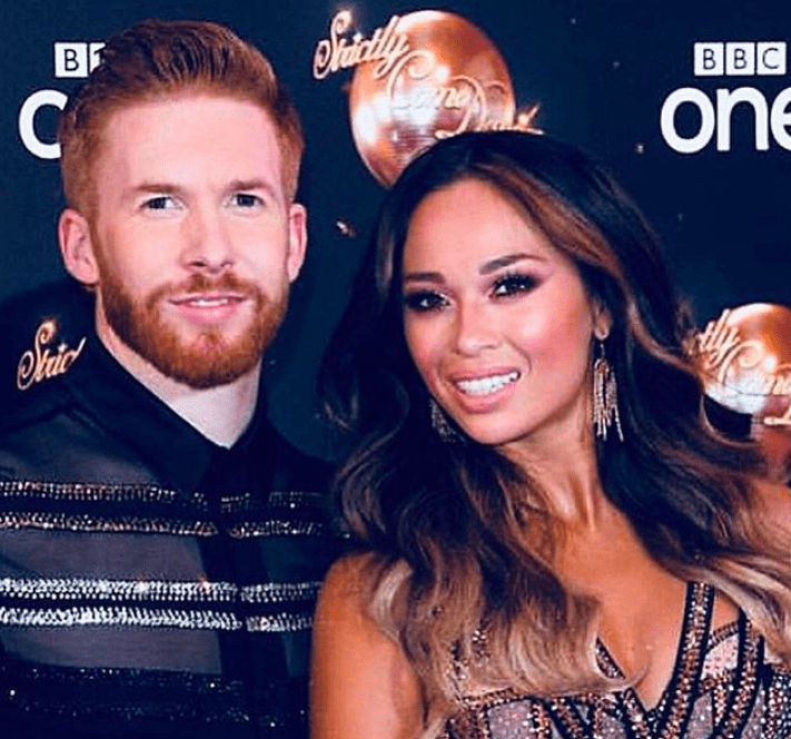 Seann Walsh's girlfriend Rebecca Humphries issues statement on Katya Jones kiss