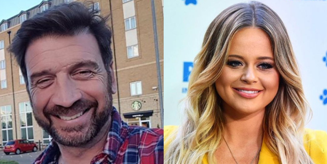 I'm A Celebrity bosses 'plotting romance between Nick Knowles and Emily Atack'