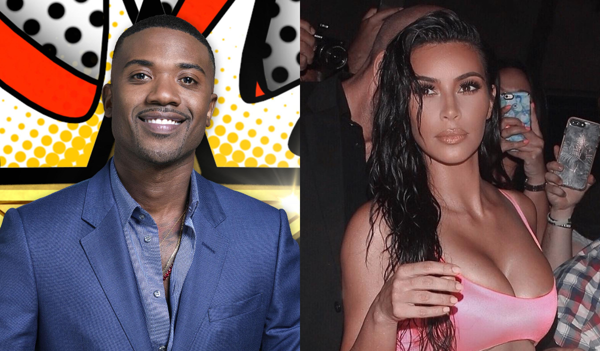 Ray j and kim k tape