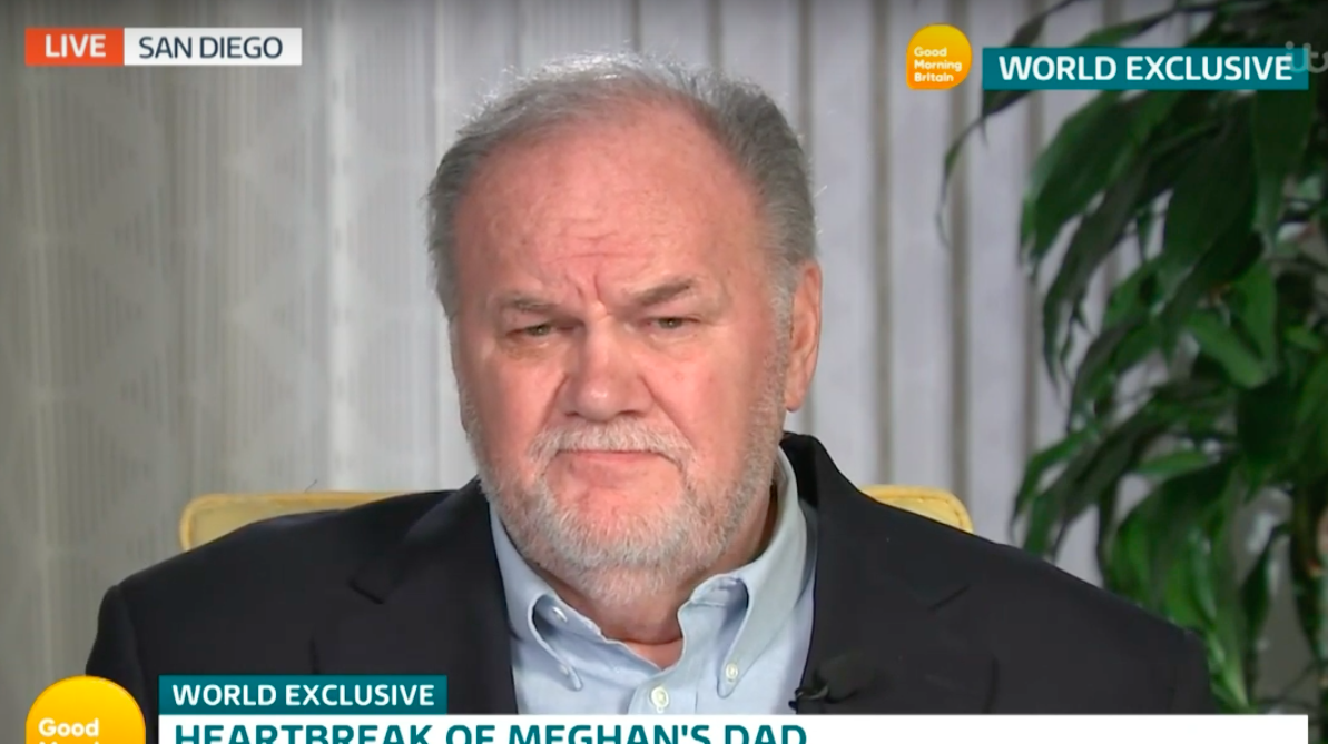 Thomas Markle claims Meghan 'has always been very controlling'