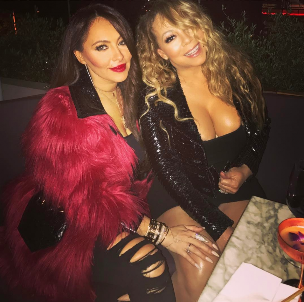 Mariah and her former manager Stella | INSTAGRAM