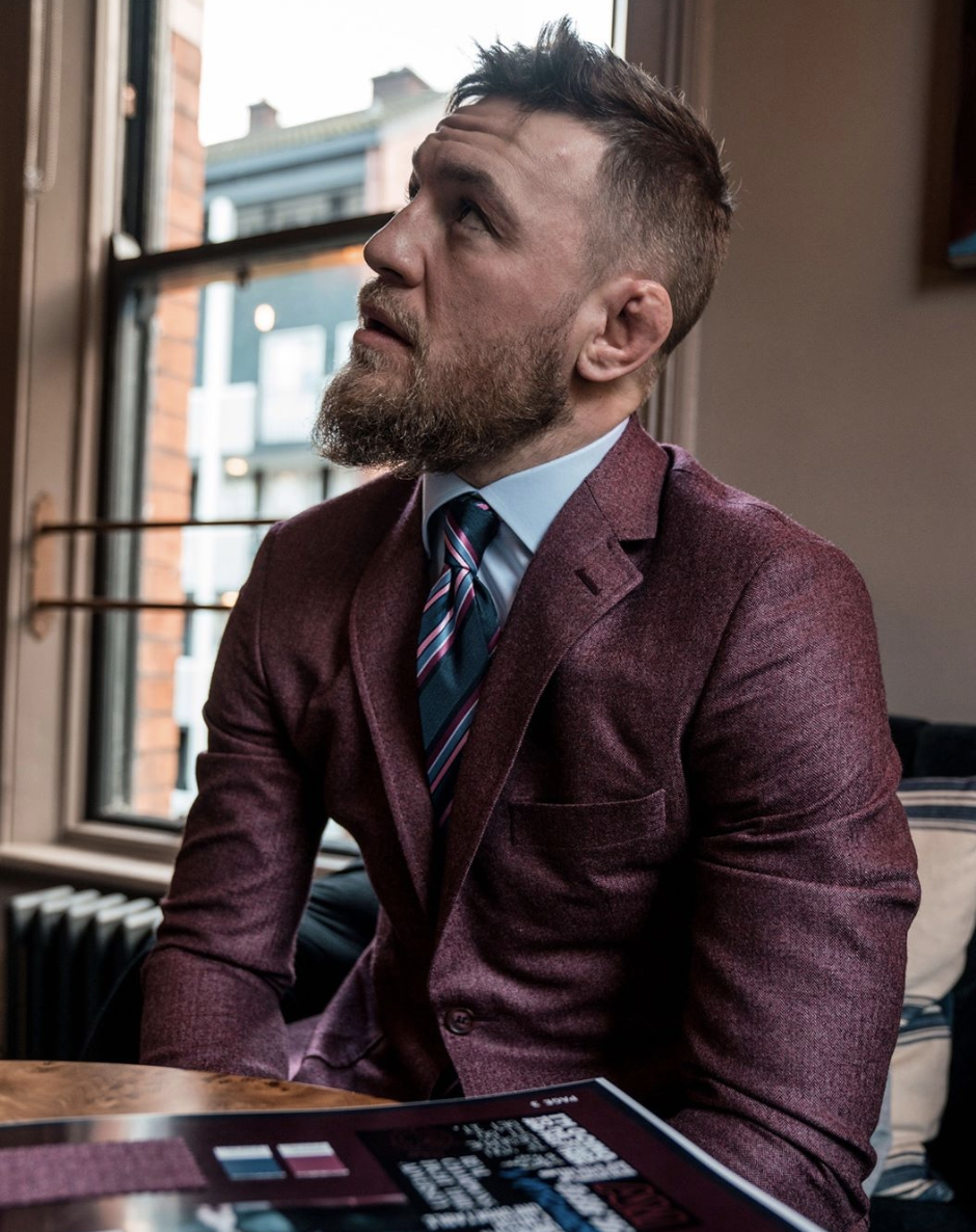 Conor Mcgregor Reveals His New Clothing Line Is Coming To Arnotts