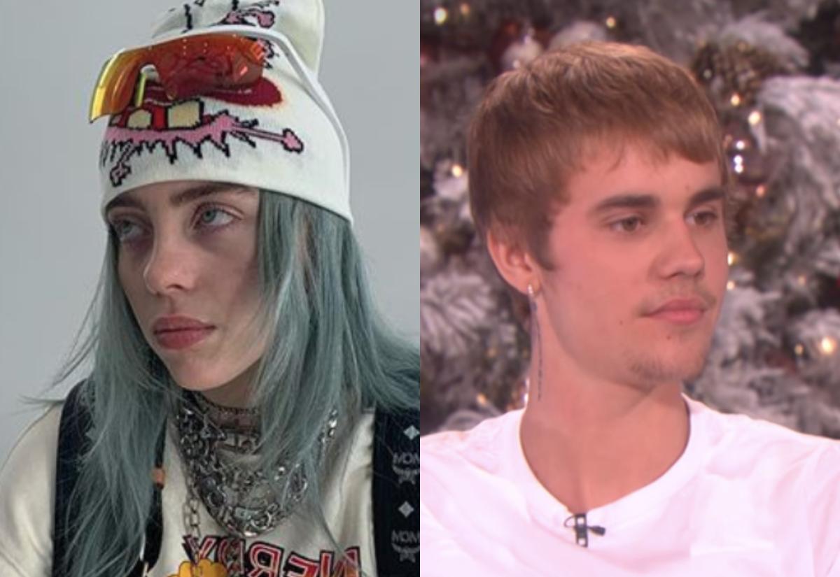 WATCH: Billie Eilish finally meets Justin Bieber after