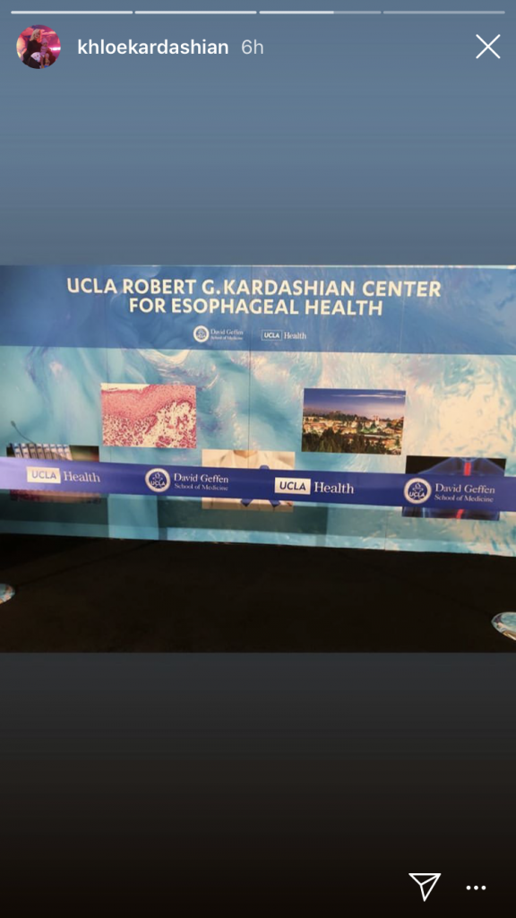 Kim and Khloe Kardashian open UCLA health center - named after their
