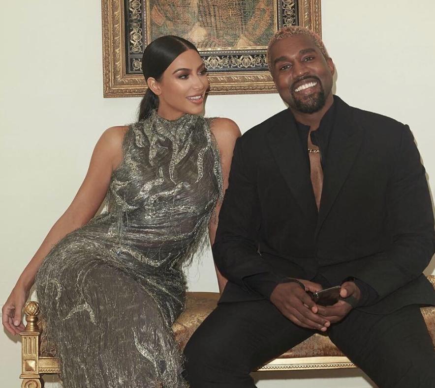 Image result for kanye west and kim kardashian