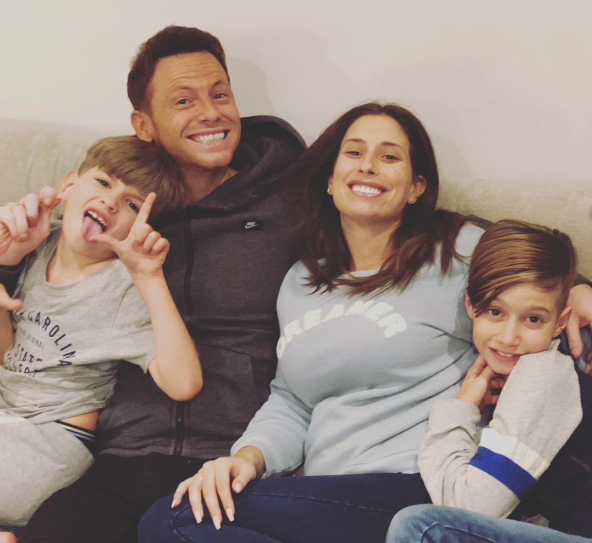 Stacey Solomon and Joe Swash announce baby news