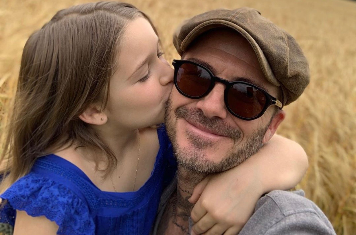 Beckham family shares sweet snaps of Harper to celebrate her 8th birthday