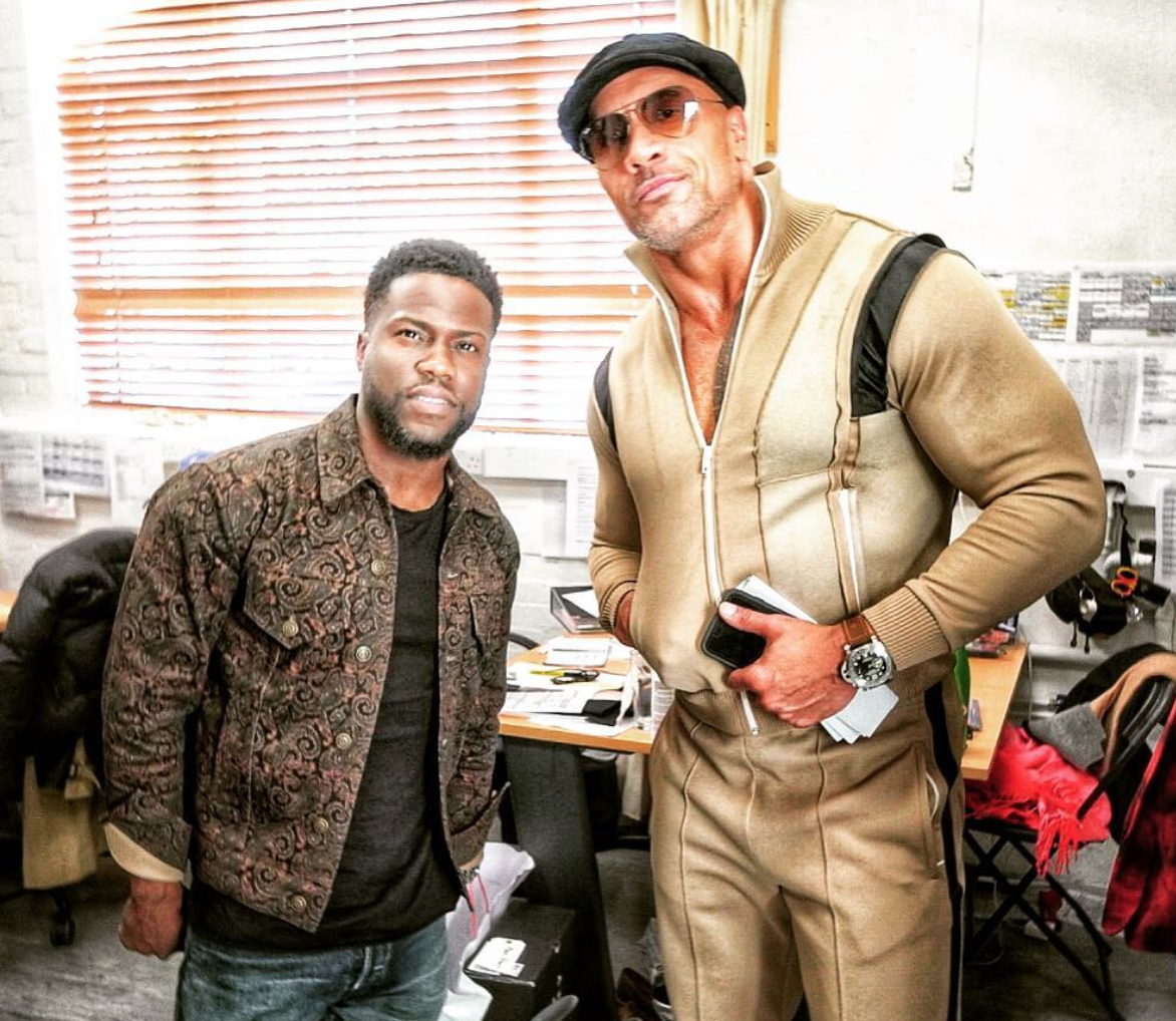 Dwayne Johnson Jokes He Spoke With Kevin Hart's 'Pediatrician' After Car Crash