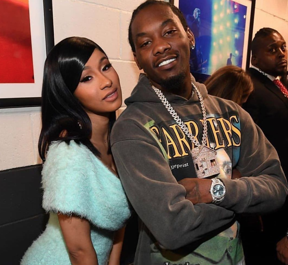 Cardi B Reportedly Pursuing Legal Action Against Hackers: WATCH: Video Shows Cardi B's Husband Offset Being Detained