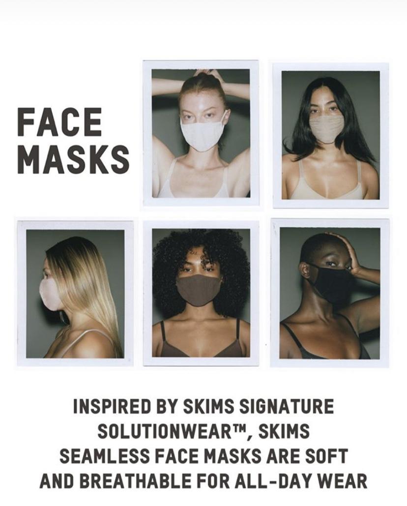 Kim Kardashian receives HUGE backlash - as new 'face masks' sell ...