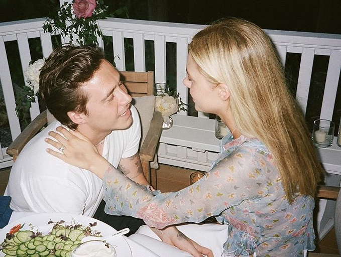Brooklyn Beckham and Nicola Peltz share proposal photographs